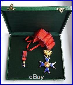 Décoration Vatican Commandeur avec miniatures. (AV1126)