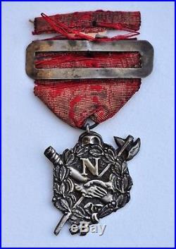 Décoration des Débris de l'Armée Impériale médaille d'anciens artilleurs