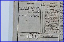Décorations du Colonel Grard, croix de guerre 1914-15, Valeur Militaire Italie