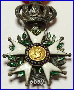 Demi-taille de LEGION d'HONNEUR, chevalier, 22 mm, argent, presidence /00010