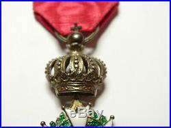 Demi-taille de LEGION d'HONNEUR, chevalier, 26 mm, argent, presidence /0009