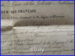 Diplômes Chevalier / Officier / Commandeur Légion D'honneur Capitaine Du Génie