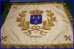 Drapeau Du Comte De Chambord Restauration Ratee De 1872