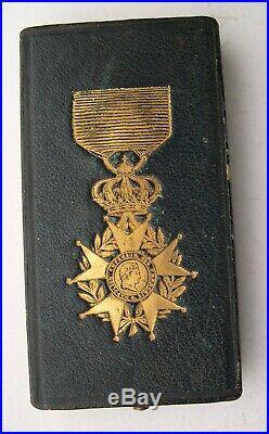 ECRIN VIDE POUR CHEVALIER ORDRE LEGION D'HONNEUR SECOND EMPIRE medaille