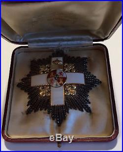 Espagne. Ordre Du Merite Militaire. Plaque De Grand Croix
