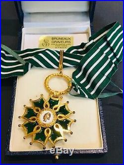 EXT Superbe ordre de commandeur des arts et des lettres medal
