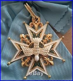Écharpe Grand Croix Ordre Saint Esprit Super Legion