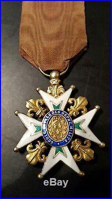 Ecole royale des orphelins militaires ordre medaille saint louis order medal