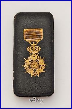 Écrin de chevalier de la Légion d'Honneur, Napoléon III, Ouzille Lemoine