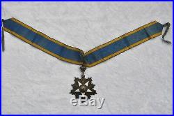 Egypte Ordre du Nil, commandeur en vermeil, dans son écrin