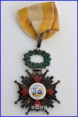 Espagne Ordre d'Isabelle la Catholique, commandeur en vermeil et émail