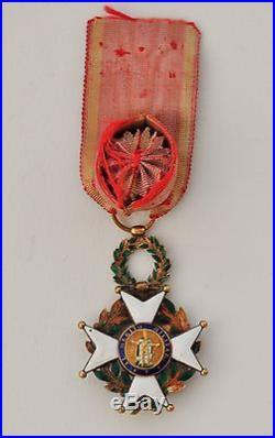Espagne Ordre de Saint Ferdinand, officier en or et émail