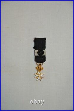 Etoile D'officier Ordre De Malte-saint Jean De Jerusalem-order Of Malta In Gold