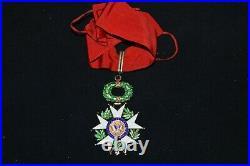 Etoile De Commandeur Legion D'honneur-4° Republique-french Legion Of Honnor 1946