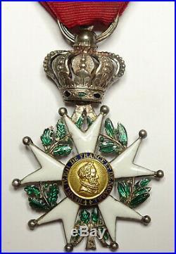 Etoile de la LEGION d'HONNEUR, chevalier, 38 mm, argent, restauration
