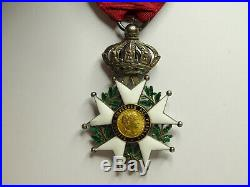 Etoile de la LEGION d'HONNEUR, chevalier, 43 mm, argent, 2e empire LH07