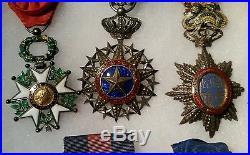 Exceptionnel lot d'un marin WWI et WWII