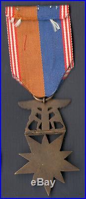Exceptionnel médaille des volontaires américains en France ww1