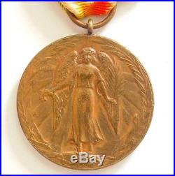 Exceptionnelle médaille Interalliée du Brésil
