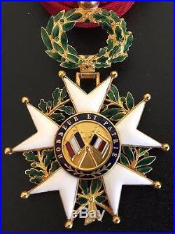 France. Officier De L'ordre De La Legion D'honneur En Or