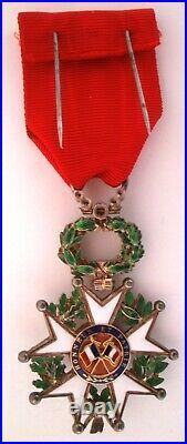 FRANCE TRES BEL ETAT Légion d'honneur LUXE Diamants Ordre order médaille IVe Rep