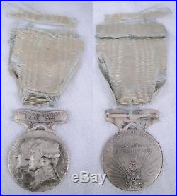 FRANCE USA Médaille de Chateau Thierry Lafayette french medal ww1 poilu verdun