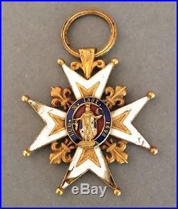 France Croix Ordre de Saint Louis réduite 2/3 de taille