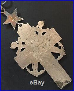 France Croix daumônier pour la marine Rare