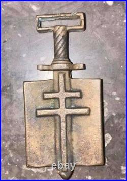 France Croix de compagnon de la Liberation fabrication artisanale