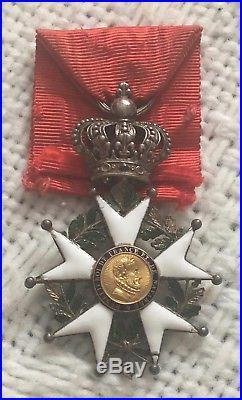 France. Legion d'Honneur + Miniature Epoque RESTAURATION Decoration RARE