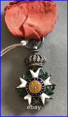 France Légion dHonneur 1er Empire 2ième type, centres modifiés Restauration