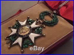 France Légion dHonneur Commandeur 3ième République de Luxe à brillants SUP