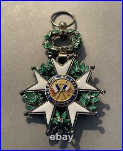 France Légion dhonneur Officier vermeil 3ième Rép. De luxe avec diamants SUP