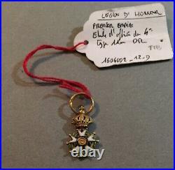France Légion dhonneur miniature en or Officier 1er Empire, 4ième type. Rare