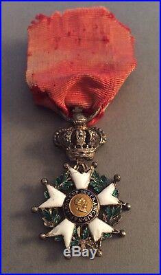 France Légion dhonneur réduction 2/3 de taille 1er Empire 4ième type