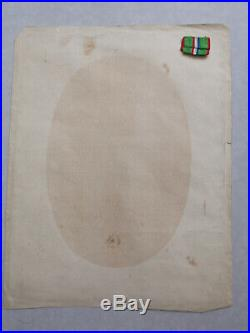 France Médaille 2ème Armée De La Loire Général Chanzy Brevet Second Empire