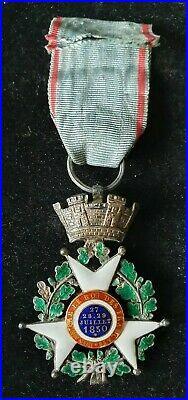 France- Medaille- ordre- Croix de juillet 1830