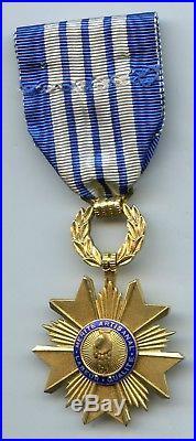 France Ordre Du Merite Artisanal Officier Vermeil