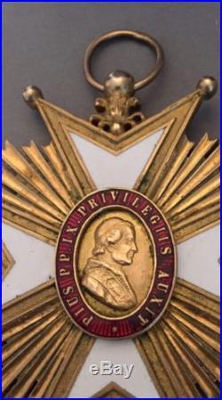 France Superbe Croix de Chapitre de Montpellier