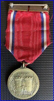France USA Groupe Médailles 1914 1918 Château Thierry Verdun Victoire 28 DIUS