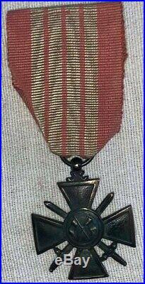France croix de guerre Giraud