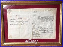 Garde impériale Diplôme legion d'honneur 1Er Empire, Saint Helene, veteran