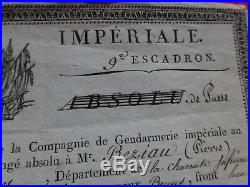 Gendarmerie Imperiale 9 Escadron 5 Legion Conge 1806 1 Er Empire Napoleon