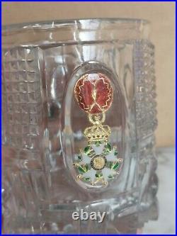 Gobelet En Cristal Baccarat Ordre De La Légion D'honneur Époque Restauration