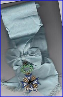 Grand Croix de l'Ordre de l'Etoile Noire du Bénin Vermeil Superbe