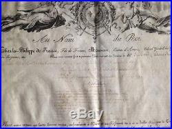 Grand Diplome De L Ordre Du Lys