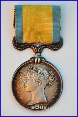 Grande Bretagne Médaille de la Baltique 1854, fab. Française, signée E. F