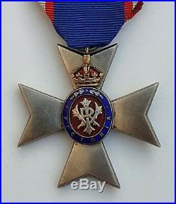 Grande Bretagne Ordre Royal de Victoria, croix de chevalier, numérotée au dos