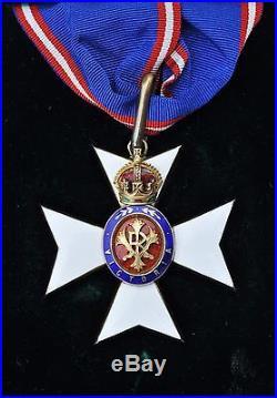 Grande Bretagne Ordre Royal de Victoria, ensemble de Grand Officier K. C. V. O