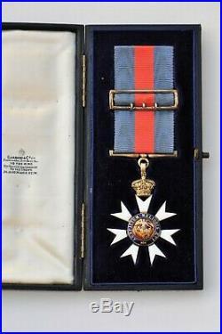 Grande Bretagne, Ordre de Saint Michel et Saint George, chevalier, 1° type